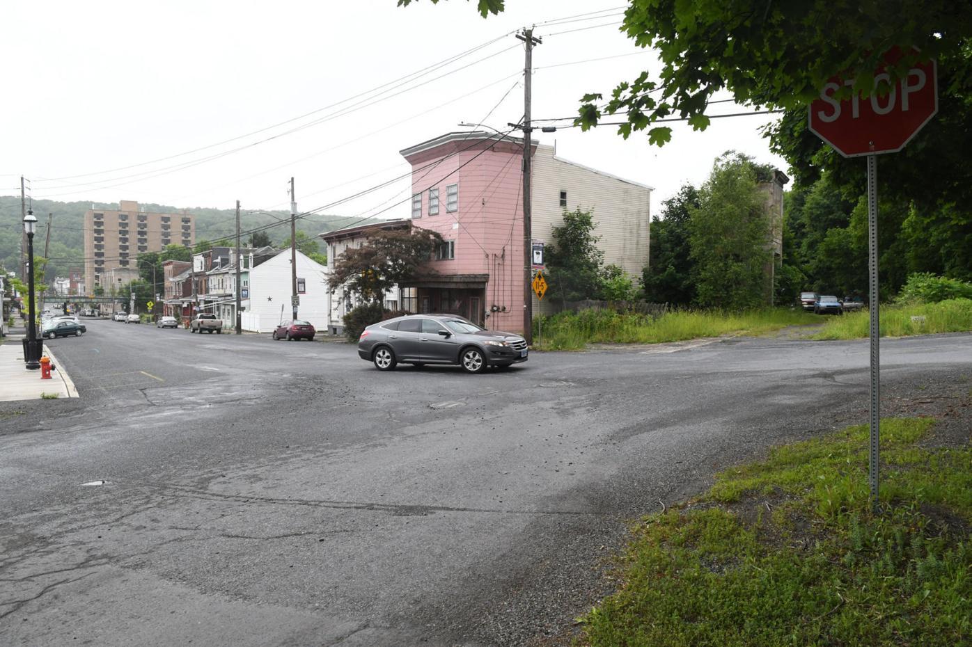 Mahanoy City Intersection