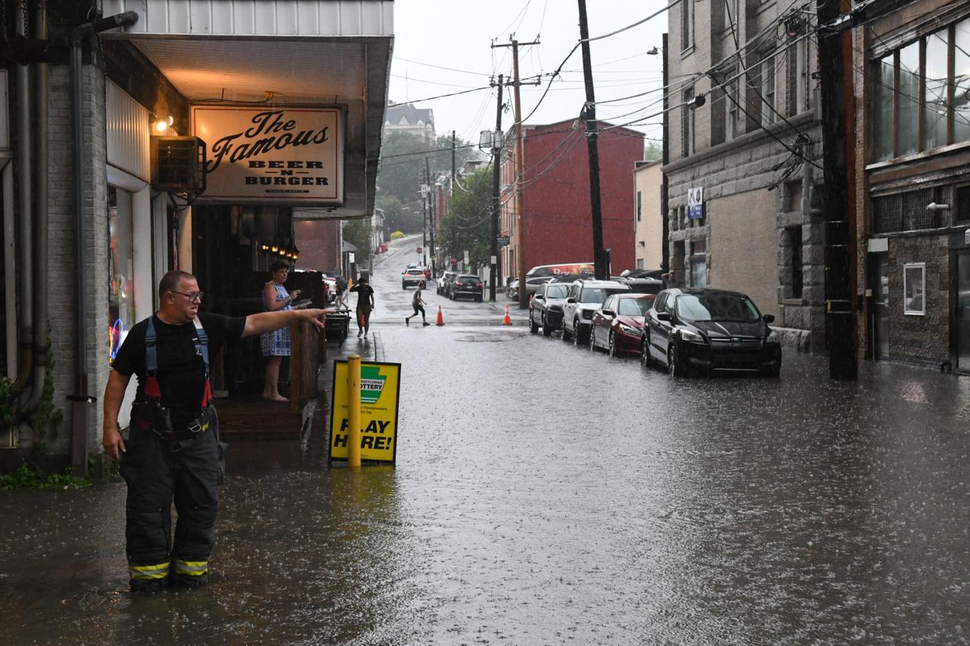 Pottsville Flood