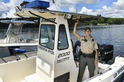 Borger begins career as Waterways Conservation Officer
