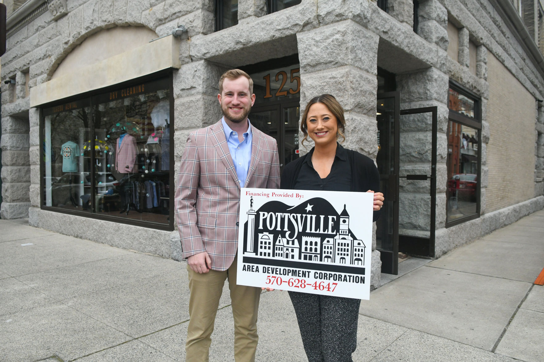 Pottsville Area Development Corp. presents 3 facade improvement grants