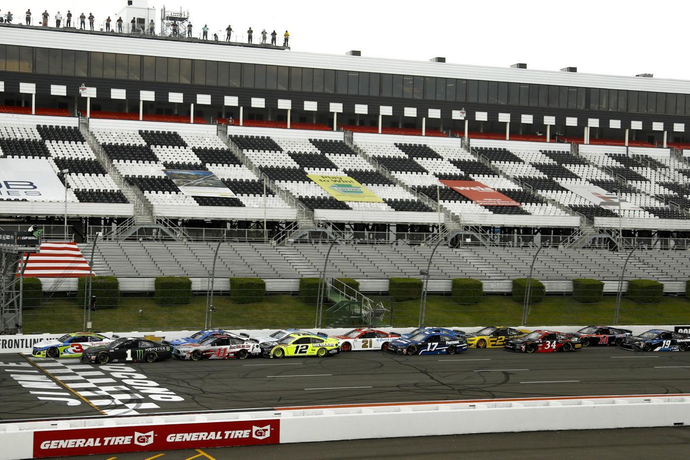 NASCAR Pocono Cup Auto Racing