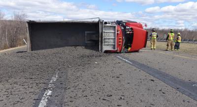 Crash temporarily closes I81 south at Delano Exit