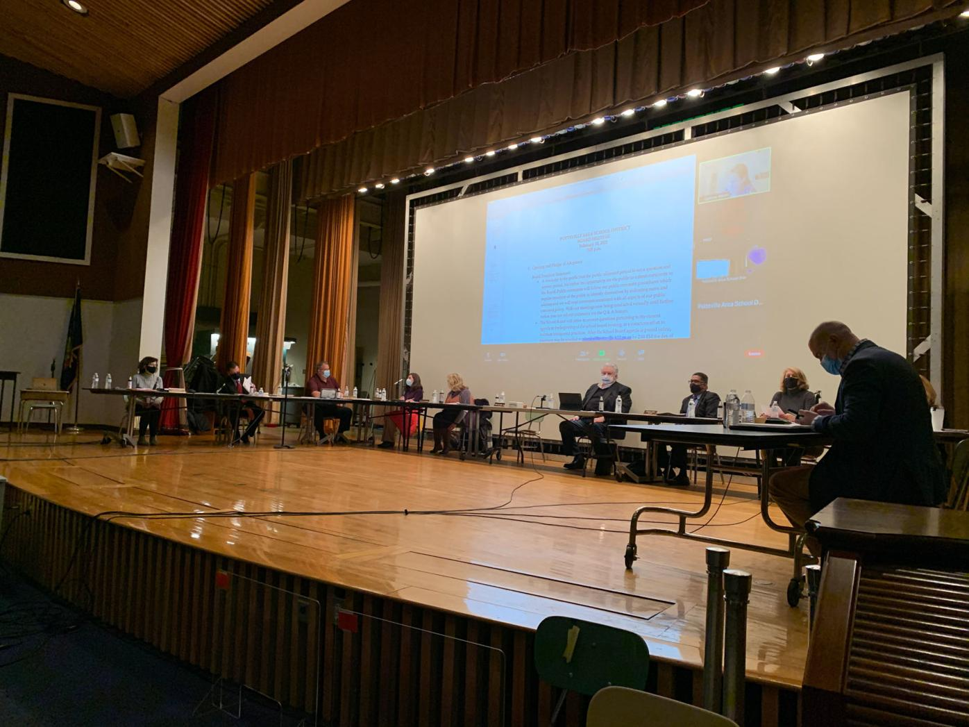 Pottsville School board