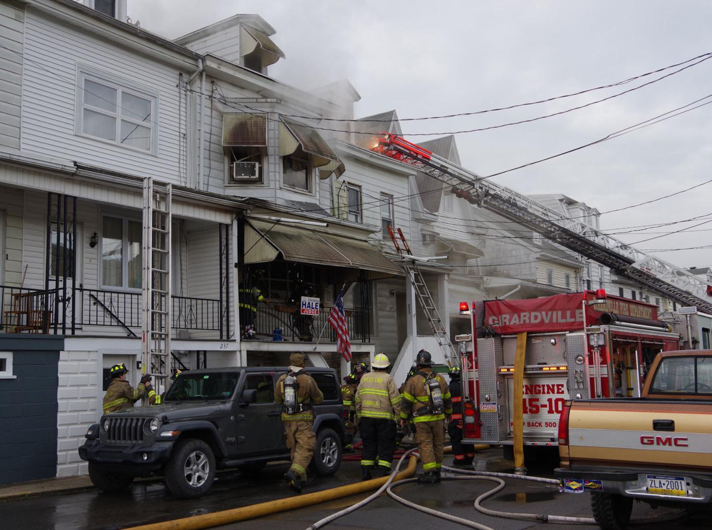 Girardville fire 2