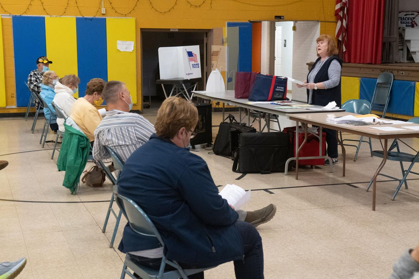 POLL WORKER TRAINING