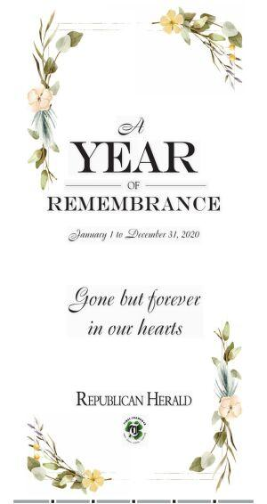A Year of Remembrance 2020