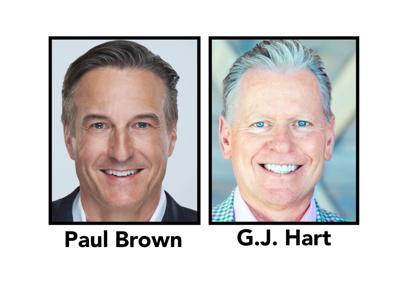 Paul Brown & G.J. Hart