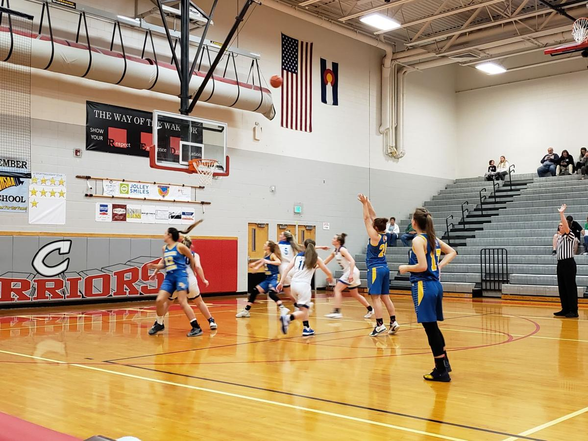 200229 Roaring Fork's Caroline Wisroth (20) shoots a free throw vs. Cedaredge in the Feb. 29 3rd-place district game.jpg
