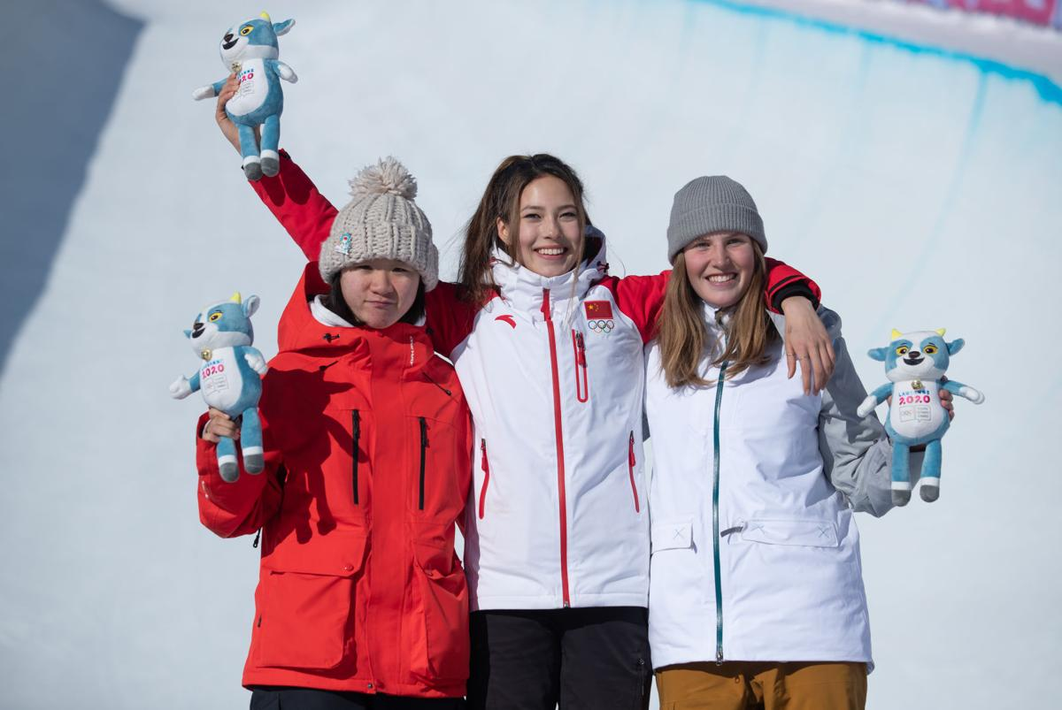 Faulhaber rises to the occasion in YOG halfpipe