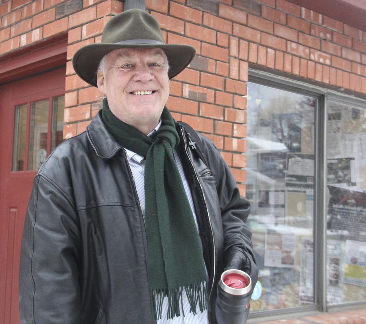 Steve C outside studio