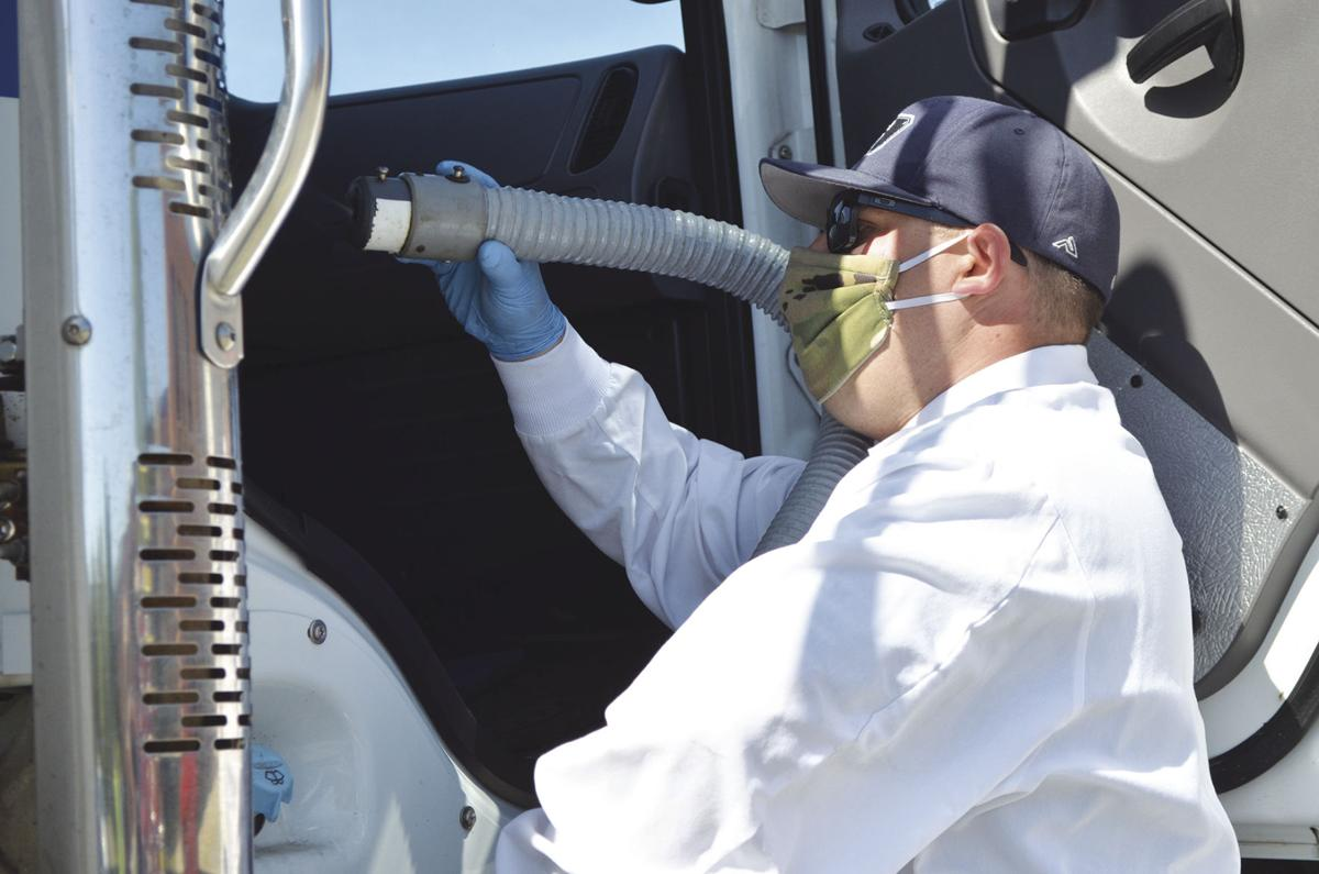 Coventry task force holds mass decon of all municipal vehicles