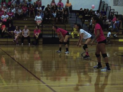 Rebels Lose On Volley For The Cure Night Narragansett Times