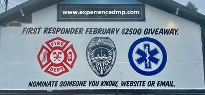 Dennis Moffit Painting recognizes first responders with giveaway