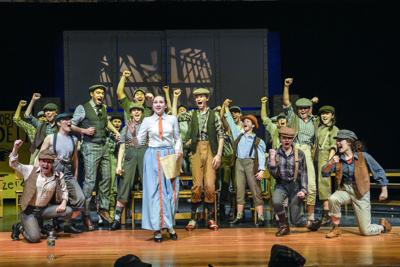 Students prepare for opening night of 'Newsies'