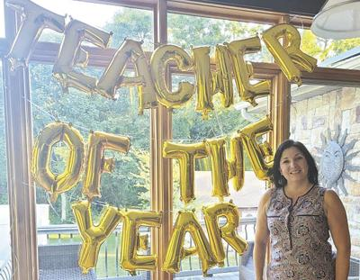 ASFMS's Cheryl Saucier named Coventry 'teacher of the year'