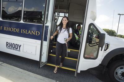 URI debuts new fleet of shuttles | Narragansett Times | ricentral com