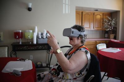 Virtual reality provides new opportunities for Kingston Center residents