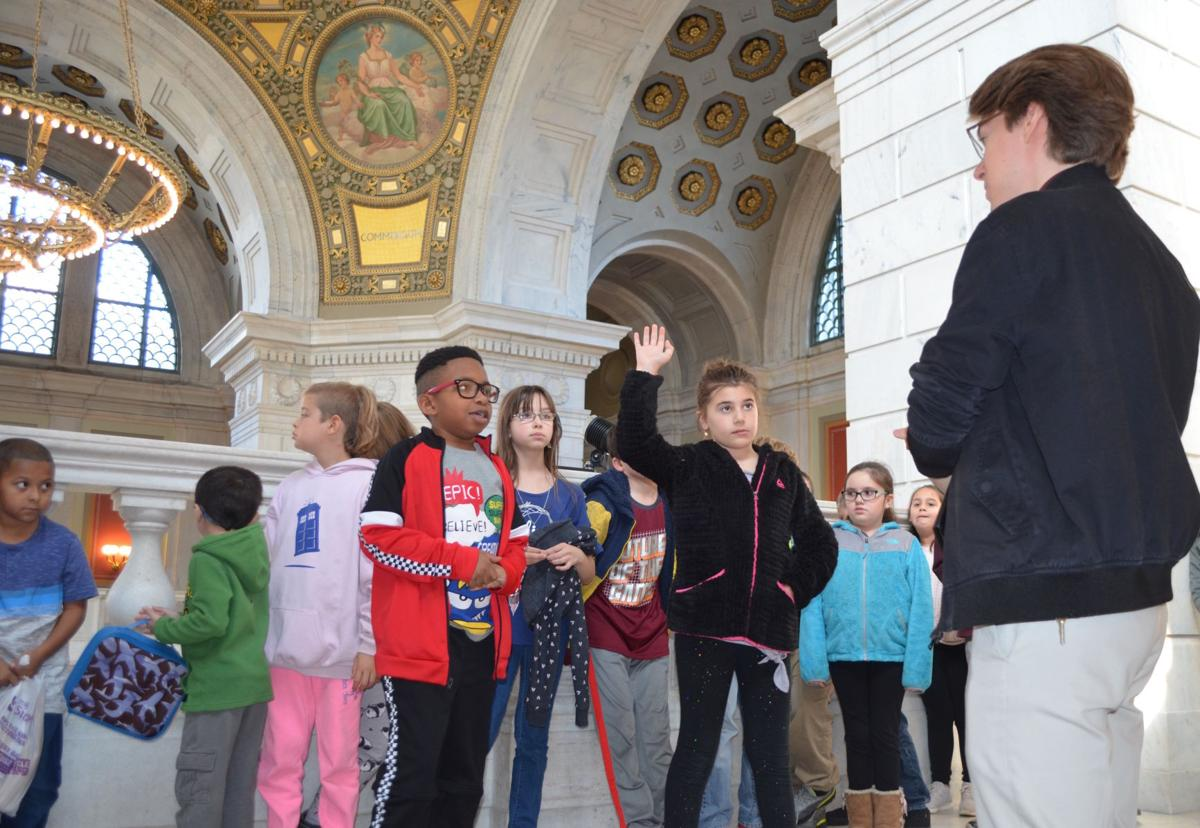 Wakefield Hills students get guided tour of RI Statehouse