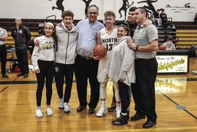 Brochu joins 1,000-point club in win over Coventry (I)