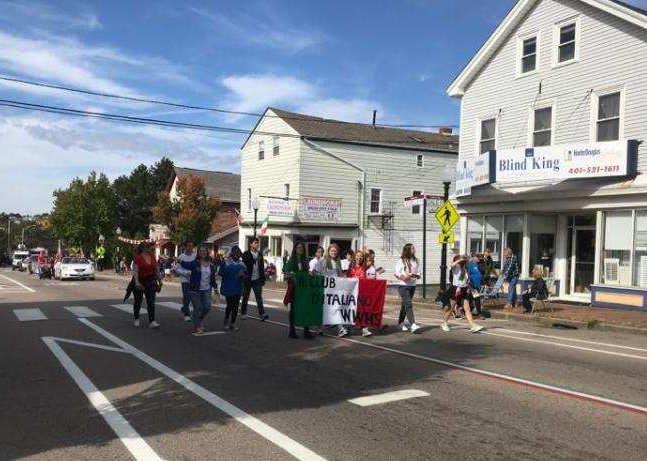 West Warwick students celebrate Italian heritage