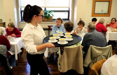 Thanksgiving lunch for seniors