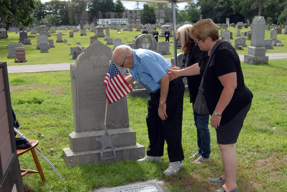 East Greenwich honors Civil War veteran with memorial plaque in St. Patrick's Cemetery