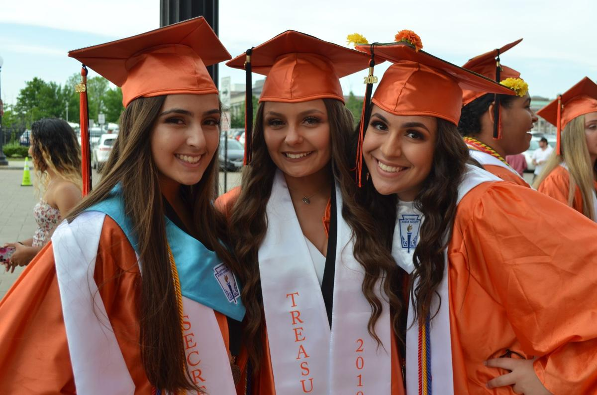 Class of '19 Wizards wave goodbye