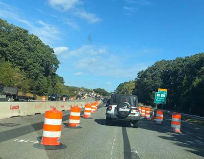 Construction will cause lane closures