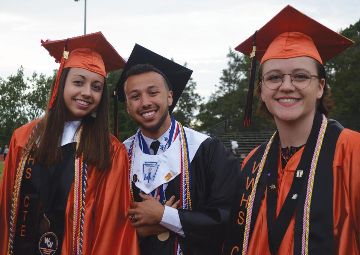 Nearly 220 West Warwick students graduate in outdoor ceremony Friday