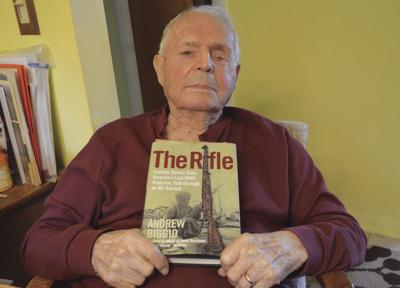 WWII veteran from West Warwick has story told in bestseller 'The Rifle'