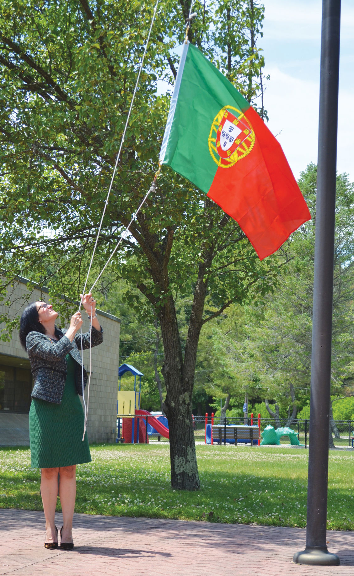 Ceremony in Coventry held in honor of Day of Portugal holiday