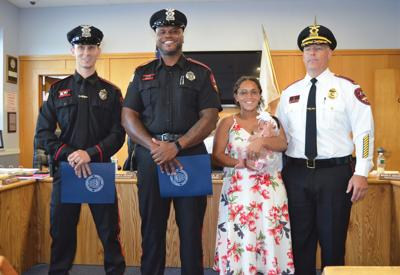 WWPD officers recognized by council for rescuing choking infant