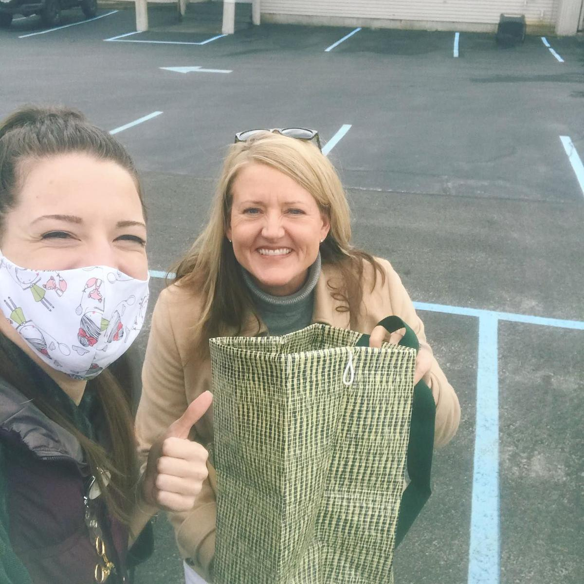 West Warwick's Tricia Sellon leads volunteer team to make free masks
