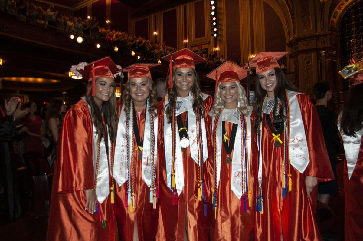 Emotional send-off for West Warwick Class of '18 | Kent
