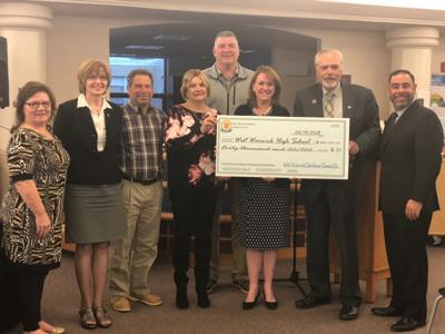 West Warwick Centennial Committee donates $40,000 to West