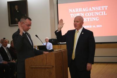James Tierney sworn in