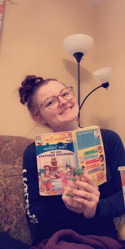 Page turner: CHS student is using the Internet to keep kids engaged with books