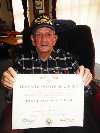 A World War II veteran with incredible stories