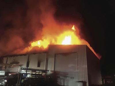 Wickford Shipyard Fire