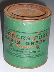 The dangers of 'Paris Green'