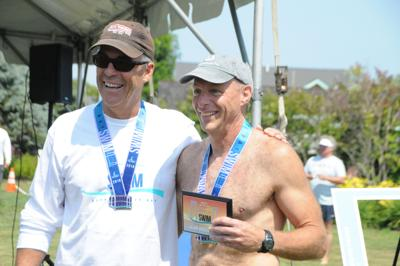 Coventry's Alan Hollenbeck takes part in 25th consecutive Save The Bay Swim