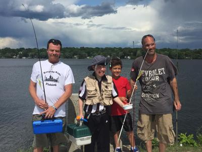 Keeping kids fishing' instead of only wishin'