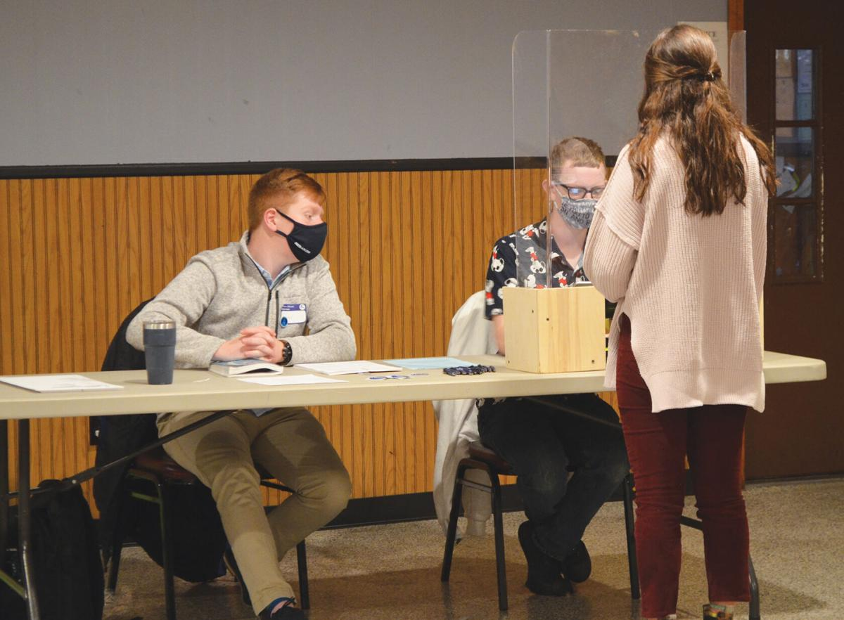 WWHS students help out at polling places across town on Election Day