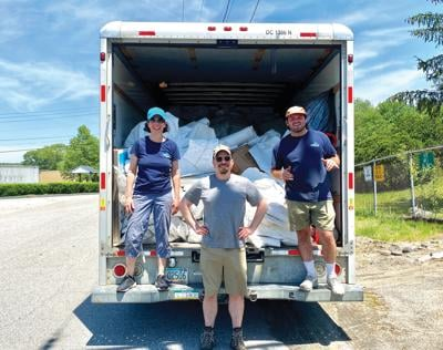 Coventry, Clean Ocean Access collect 1,300 lbs of shrink wrap Saturday