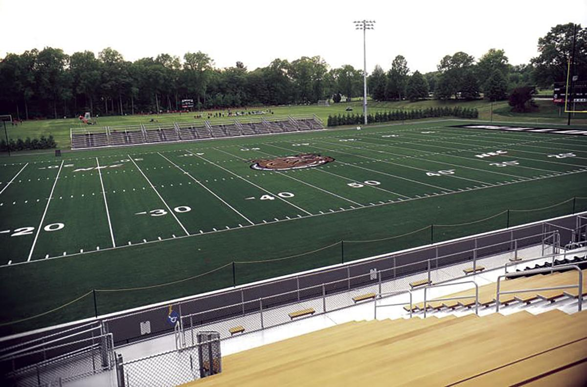 Bryant Renovates Football Field Adds Lights And Turf Nk Standard