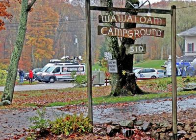 Gunman dead, woman in stable condition after shooting at Wawaloam Campground