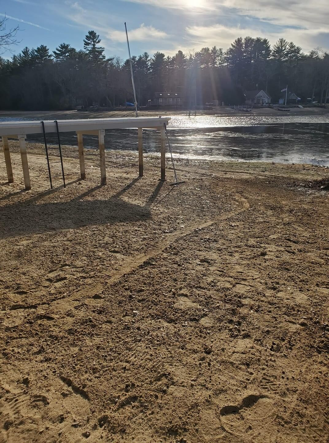 Residents concerned over future of Johnson's Pond amid new ownership