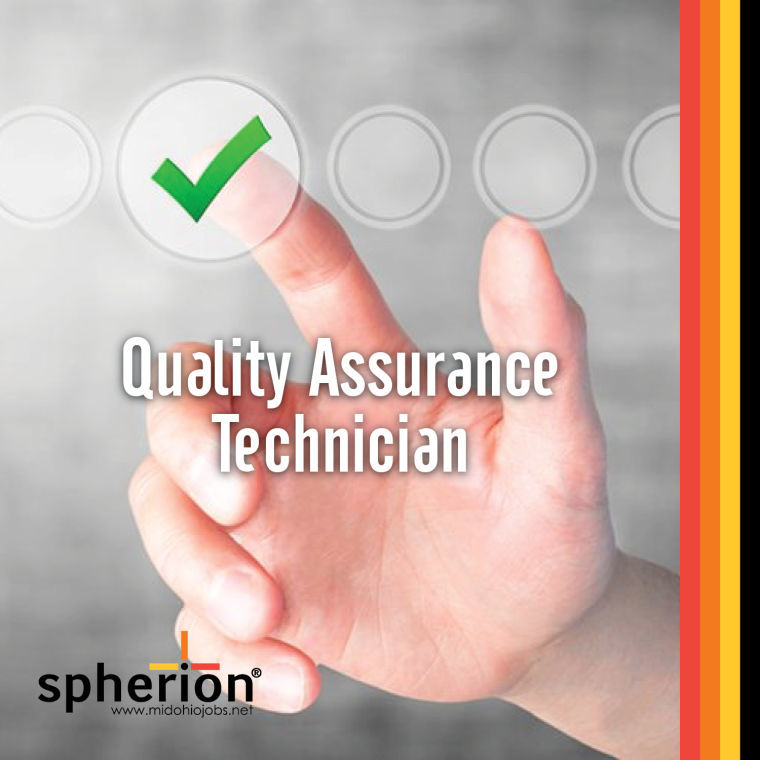 Quality Assurance Technician in Ashland