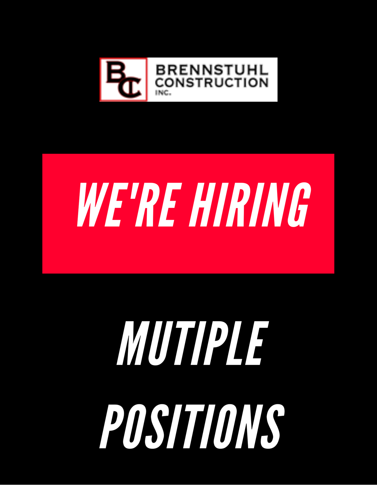 We're Hiring CDL Drivers, Concrete Finishers and Laborers! image 1