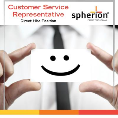 Customer Service Representative – Direct Hire!